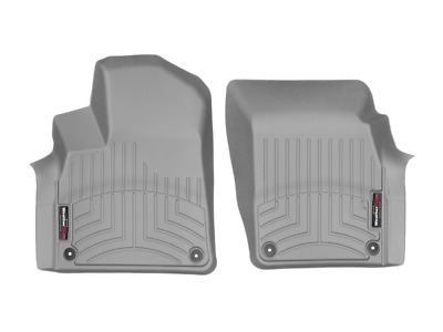 WeatherTech Floor Mats FloorLiner for Audi Q7 Bentayga 2017-2018 1st Row Grey