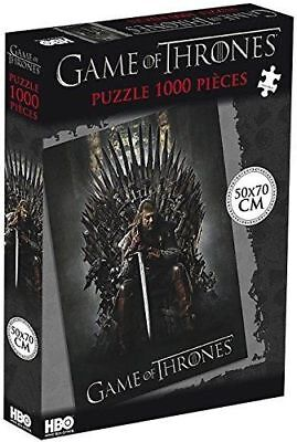 Game of Thrones Ned Stark on the Iron Throne (1000 Pieces) Puzzle multicolour