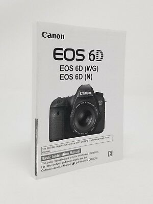 Canon Eos 5d Mark Ii Genuine Instruction Owners Manual 5d Ii Book