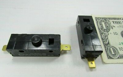 Lot 2 Cherry E13 15A Normally Open Pushbutton Switches 125/250 VAC 0E1349EC NO