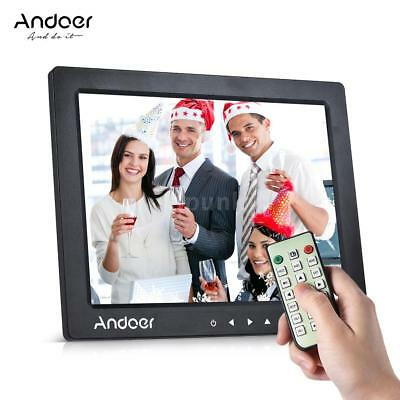 "Andoer 10"" 1080P Fotorahmen Desktop Album Bilderrahmen Display MP4 Kalender EU"