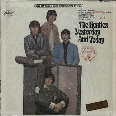 Beatles Yesterday And Today - 2nd Apple + RIAA USA vinyl LP album record