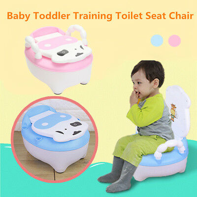 Baby Kids Children Toddler Toilet Training Potty Pee Trainer Safety Seat Chair