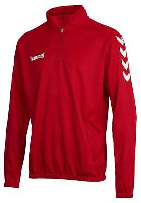 Hummel Core 1/2 Zip Sweat Pullover rot NEU 67537