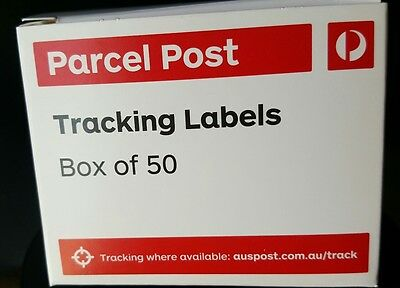 500x Aust. POST Tracking Label Stickers Auspost TRACK ALL PARCEL/POST 10 x boxes