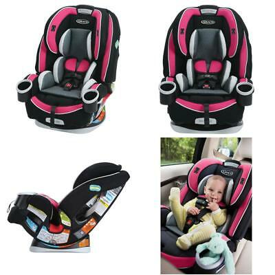 graco baby 4ever all in 1 convertible car seat infant child booster azalea new. Black Bedroom Furniture Sets. Home Design Ideas