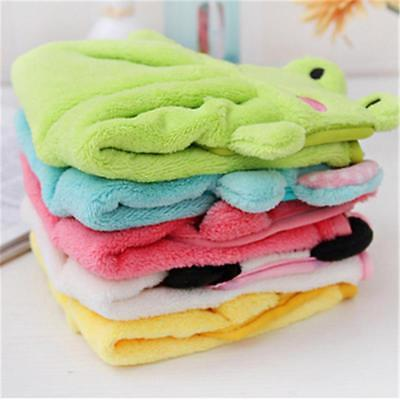 Soft Plush Cute Cartoon Animal Hanging Towel Washcloth Bathing Hand Towel