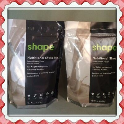 2x Body By Vi Shape ViSalus Best Tasting Shake Mix, 22 oz bags 48 Meals Exp12/20