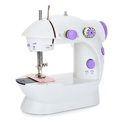 Portable Mini Automatic Travel Thread Sewing Machine Double Speed Control Button