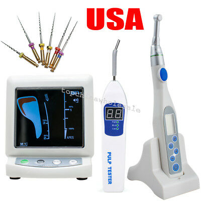 Dental Apex Locator Root Canal Endo Motor Treatment 16:1Contra Angle Pulp Tester