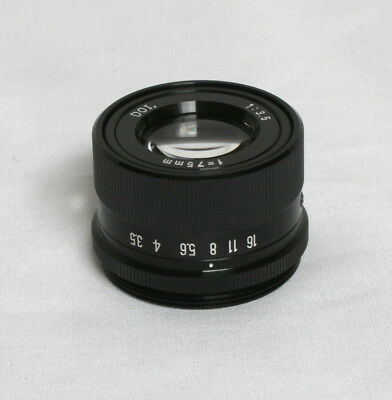 DOI 75mm F3.5 Enlarger Lens