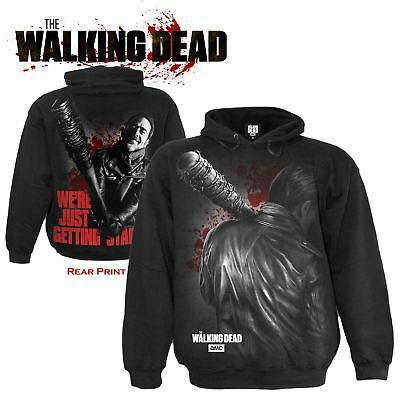 Spiral Official Walking Dead Negan Just Getting Started Hoodie
