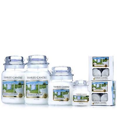 Yankee Candle 28 Piece Collection Clean Cotton
