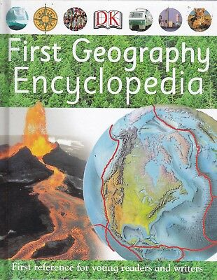First Geography Encyclopedia By Dk, New Hardback Book