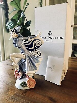 royal doulton figurines ladies Holly Blue