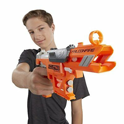 Nerf N-Strike Elite AccuStrike Zombie Blaster Gun Kids Toy Rapid Fire Foam Dart