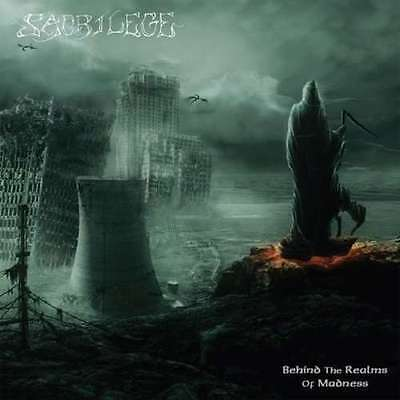 SACRILEGE - BEHIND THE REALMS OF MADNESS CD exodus sacred reich assault coroner