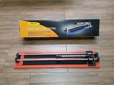 "24"" 600mm Professional Tile Cutter Shaper Heavy Duty Manual Ceramic Cutting Tool"