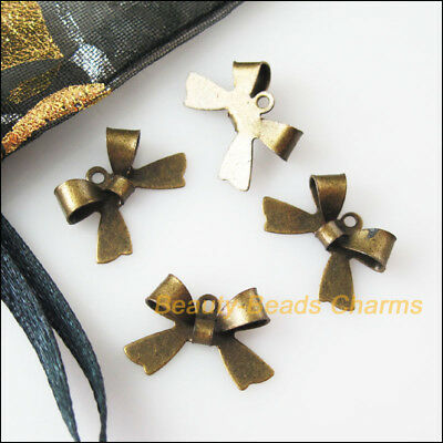 18 New Connectors Antiqued Bronze Plated Animal Butterfly Charms Pendant 11x16mm