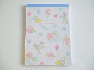 New!! Sanrio Little Twin Stars Kawaii Memo Pad Notepad/Type A