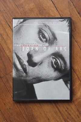 The Passion of Joan of Arc (DVD, 1999, Criterion Collection)