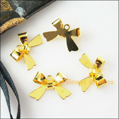 18 New Connectors Gold Plated Animal Butterfly Charms Pendants 11x16mm