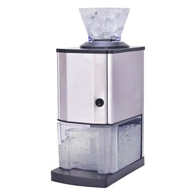 Electric Stainless Steel Ice Cube Shaver Maker