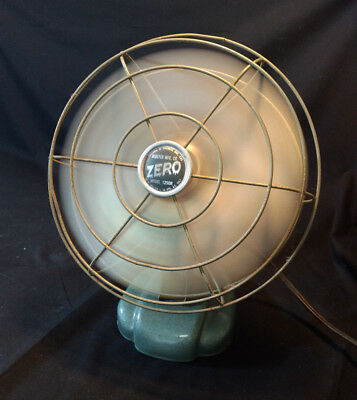 WORKING Vtg Collectible Desk Electric Bersted Co. Model 1250R Fan Made In Canada