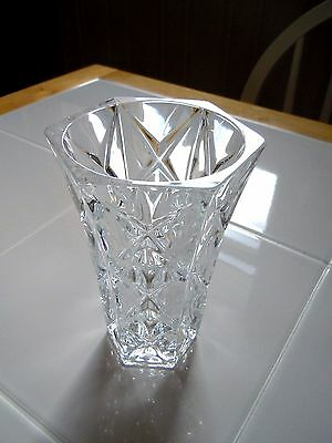 Vintage ***DISPLAYED ONLY!***  24% Genuine Lead Crystal Vase France