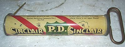 SINCLAIR NOS 1930s Bug sprayer PD  pic bugs-still makes pressure after 80+ years