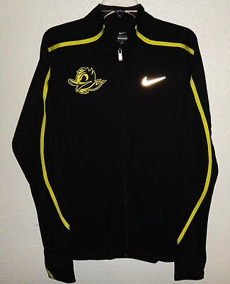 bdfd9926141b New S Nike Oregon Ducks Team Issued Angry Combat Puddles Track Top Jacket  Rare