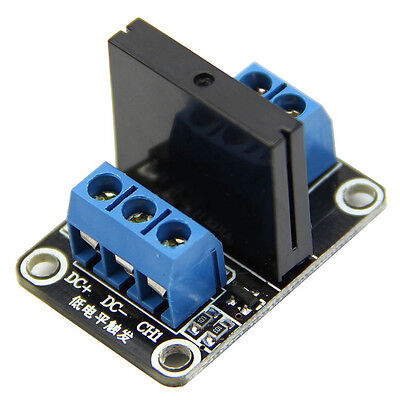 5V DC 1 Channel Solid-State Relay Board module Low Level fuse for arduino  New.