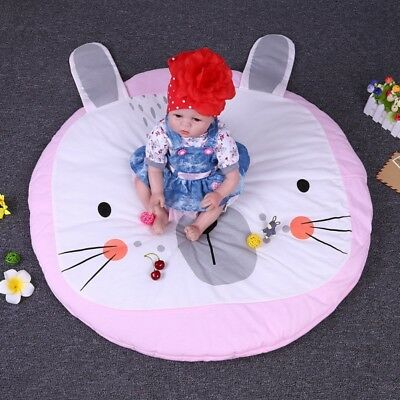 Baby Kid Soft Play Mat Cotton Floor Activity Soft Toy Gym Crawl Creeping Blanket