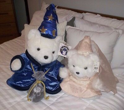 Dayton Hudson's Merlin and Miss Bear Millennium Complete  Brand New in Bags!
