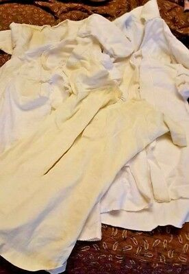 LOT of 8 VINTAGE baby gowns