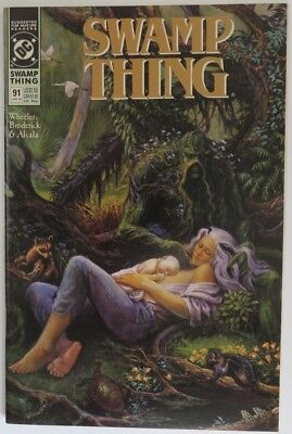 1989 Swamp Thing #91   -    Vf                      (Inv15887)
