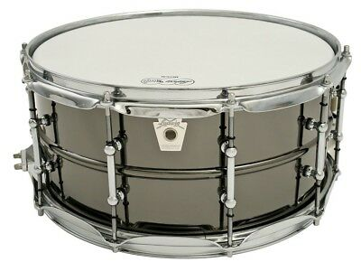 "Ludwig Black Beauty 14"" x 6.5"" Snare Drum - Tube Lugs"