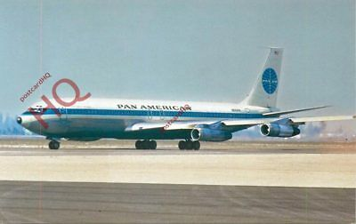 Picture Postcard:-PAN AMERICAN BOEING 707-321