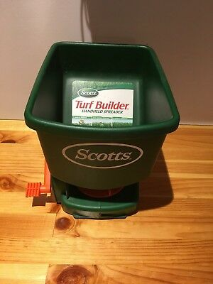 Scotts Turf Builder HandHeld Spreader LB4708 Brand New