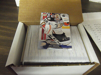 2016-17 Upper Deck Hockey Complete Series 1 Set W/o Young Guns Rc's (200) Cards