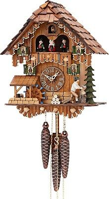 Hekas 3630 Cuckoo Clock.. New! (Authentic German/black Forest)