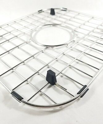 New PREMIUM GRADE Stainless Steel Sink Grid Rack Grate Rubber Feet Heavy Gauge