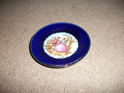 Limoges France-Porcelaine Pin Dish-In Exc. Cond.-Appears Unused-Sweetheart Des.