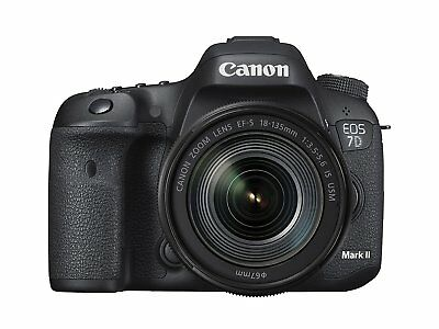 Canon EOS 7D Mark II DSLR Camera with 18-135mm f/3.5-5.6 IS USM Lens BRAND NEW