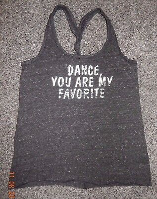 Adult Small--District Made Brand Dance Tank Top--Excellent