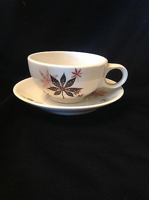 VTG Peter Terris Calico Leaves Cup And Saucer Set