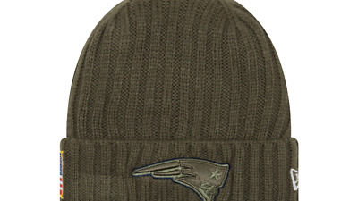 6dab60e2590999 ... greece new england patriots mens new era nfl on field 2017 salute to service  knit 421ef