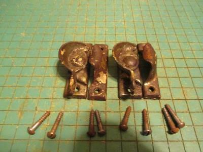 Antique Architectural Salvage Window Sash Locks 2 Pcs