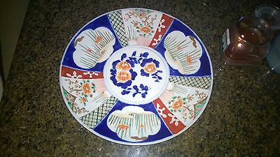Antique Japanese Imari Pottery Porcelain Large Platter/Plate/Charger