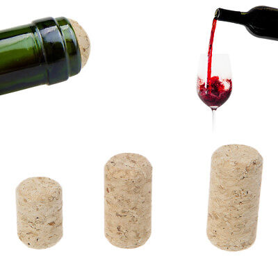 10pcs/lot Straight Bottle Wood Corks Wine Stoppers Bottle Plug New